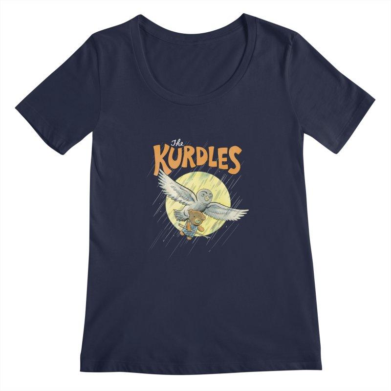 The Kurdles Women's Scoopneck by The Kurdles' T-shirt Shop