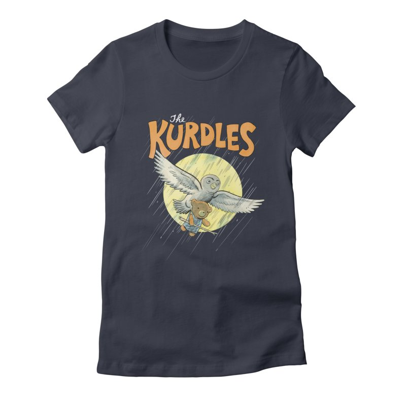 The Kurdles Women's Fitted T-Shirt by The Kurdles' T-shirt Shop