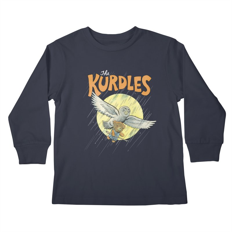 The Kurdles Kids Longsleeve T-Shirt by The Kurdles' T-shirt Shop