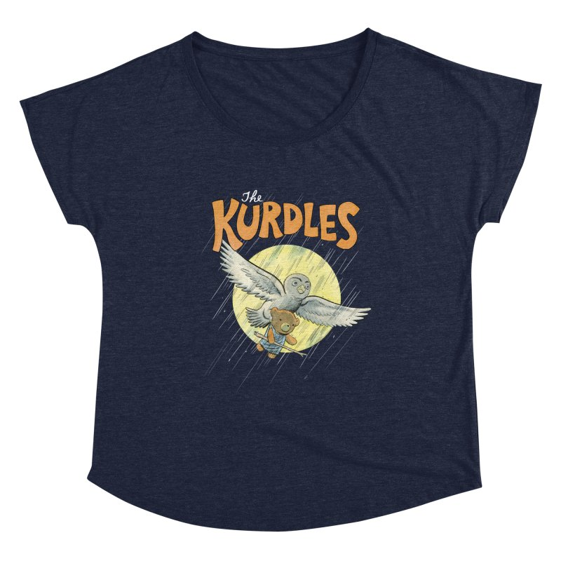 The Kurdles Women's Scoop Neck by The Kurdles' T-shirt Shop
