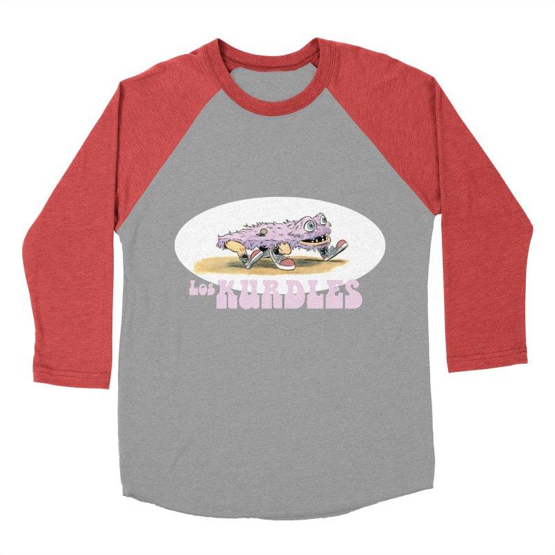 Schleb's Door (¡en español!) Men's Baseball Triblend T-Shirt by The Kurdles' T-shirt Shop