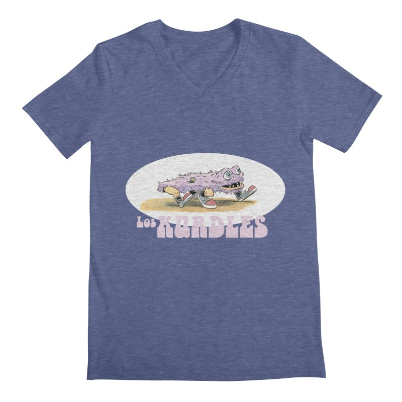 Schleb's Door (¡en español!) Men's V-Neck by The Kurdles' T-shirt Shop