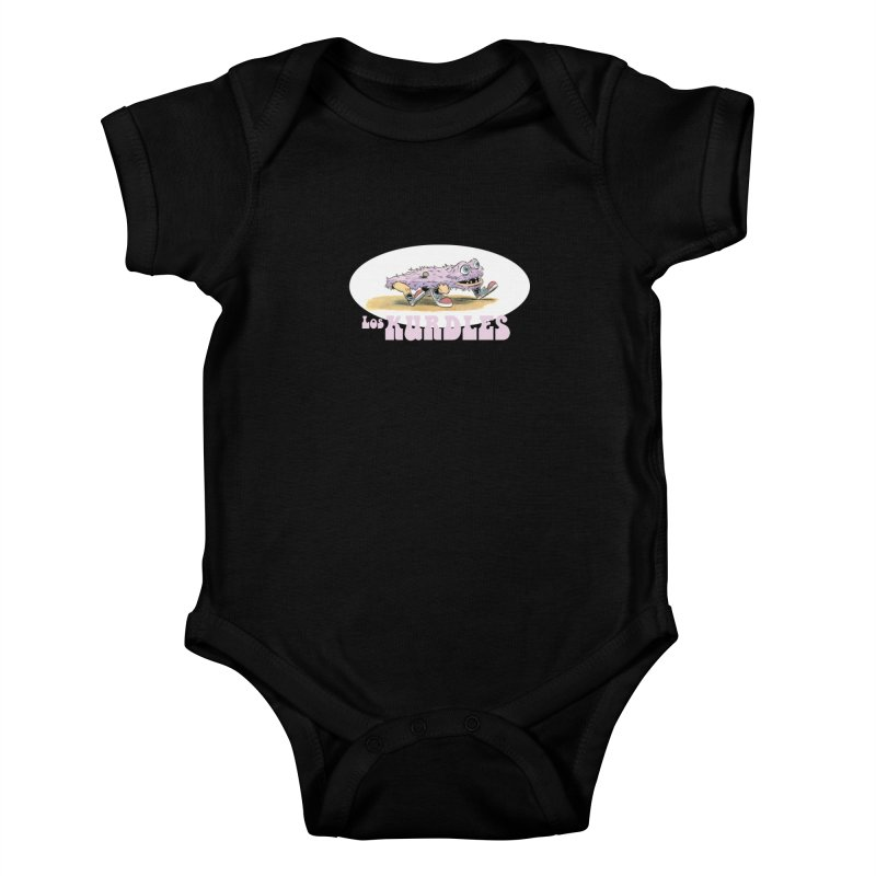 Schleb's Door (¡en español!) Kids Baby Bodysuit by The Kurdles' T-shirt Shop