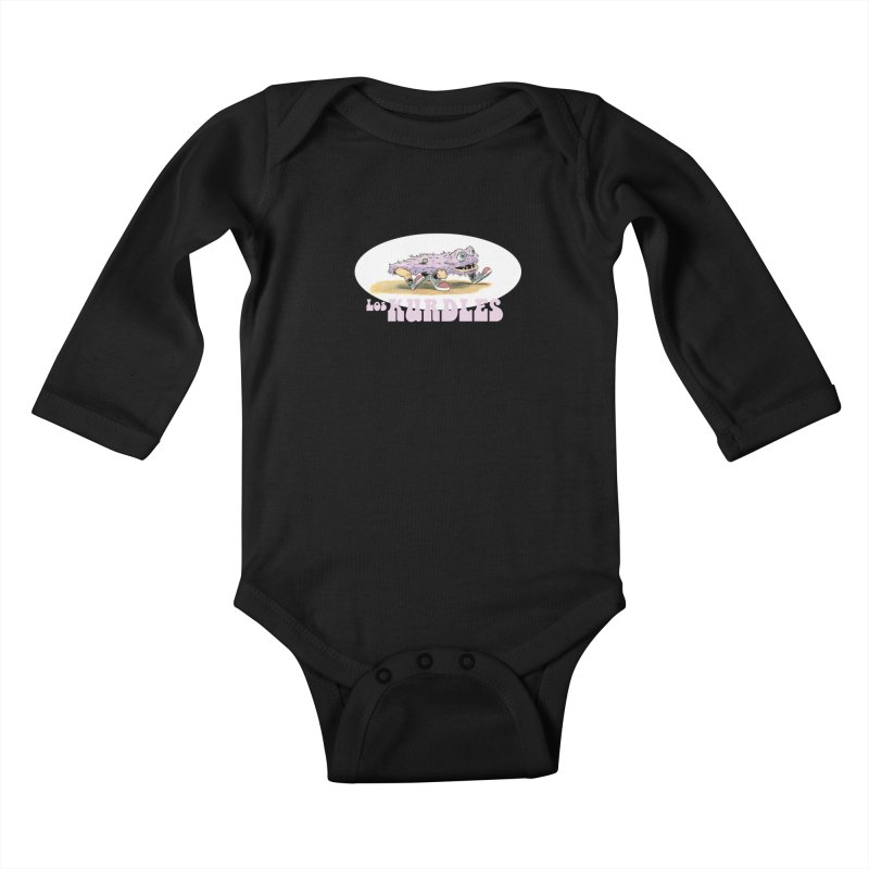 Schleb's Door (¡en español!) Kids Baby Longsleeve Bodysuit by The Kurdles' T-shirt Shop