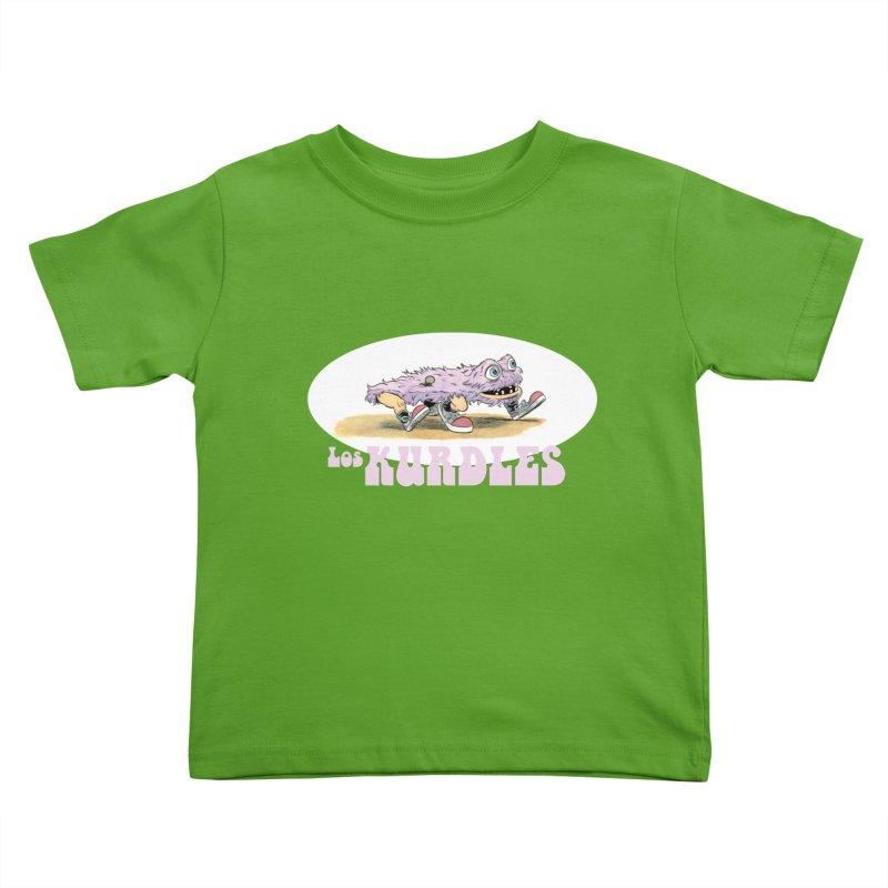 Schleb's Door (¡en español!) Kids Toddler T-Shirt by The Kurdles' T-shirt Shop