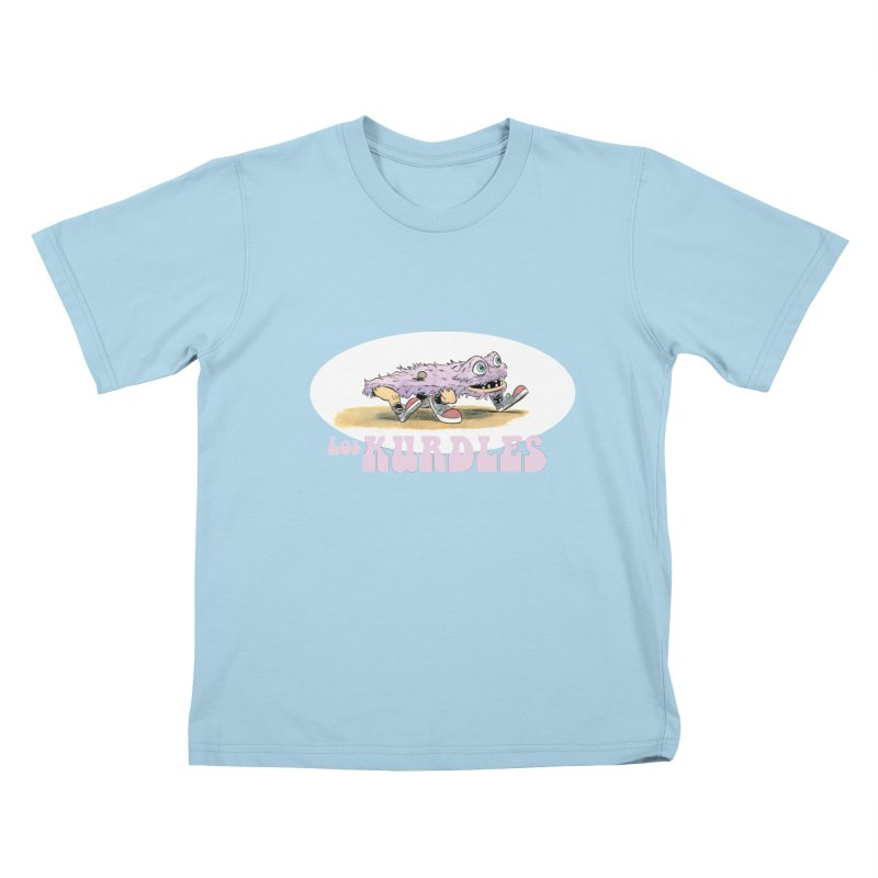 Schleb's Door (¡en español!) Kids T-Shirt by The Kurdles' T-shirt Shop