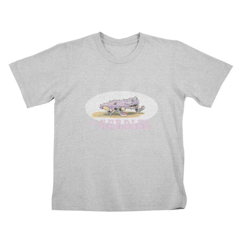 Schleb's Door (¡en español!) Kids T-Shirt by The Kurdles' T-shirt Shop