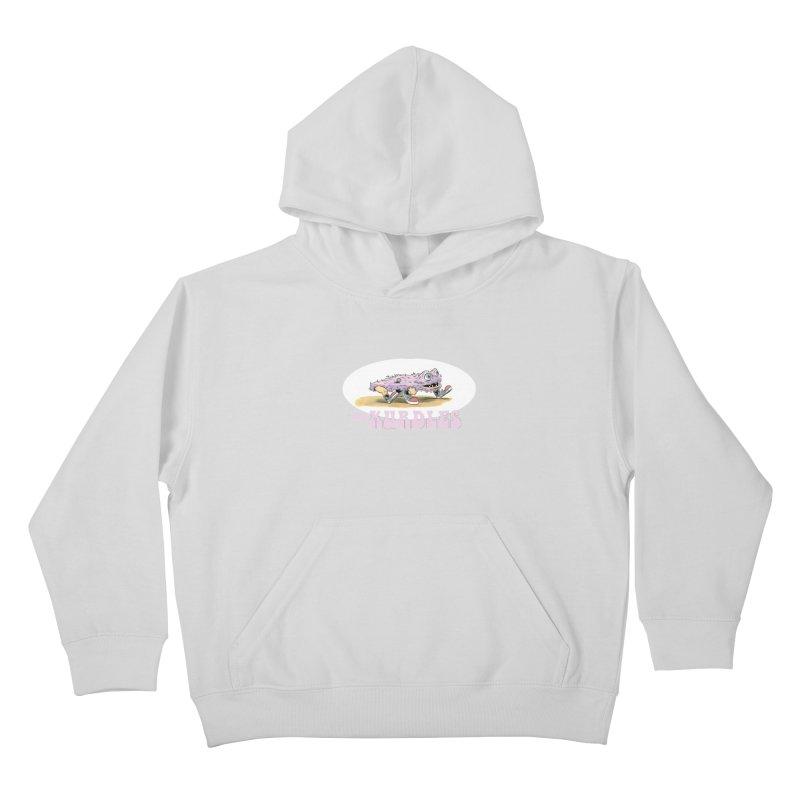 Schleb's Door (¡en español!) Kids Pullover Hoody by The Kurdles' T-shirt Shop
