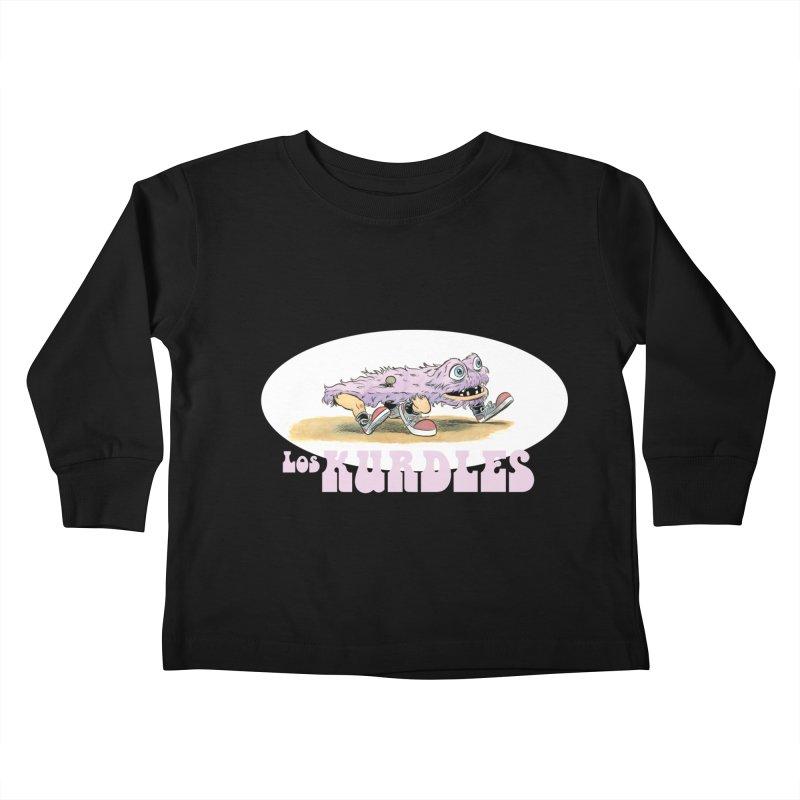 Schleb's Door (¡en español!) Kids Toddler Longsleeve T-Shirt by The Kurdles' T-shirt Shop