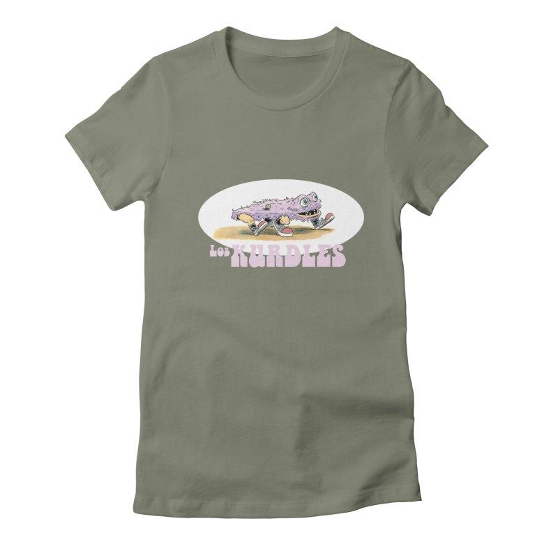 Schleb's Door (¡en español!) Women's Fitted T-Shirt by The Kurdles' T-shirt Shop