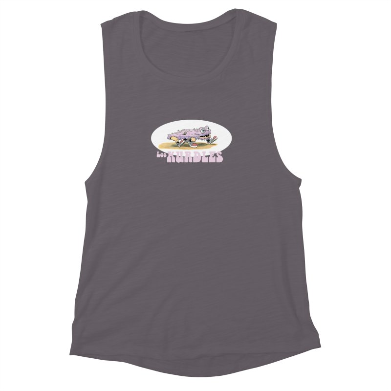Schleb's Door (¡en español!) Women's Muscle Tank by The Kurdles' T-shirt Shop