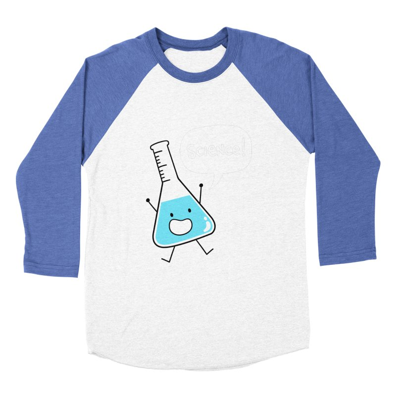 Science! Women's Baseball Triblend T-Shirt by Designs by Kurisquare