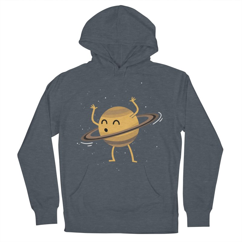 Space Hula Hoop Women's Pullover Hoody by Designs by Kurisquare
