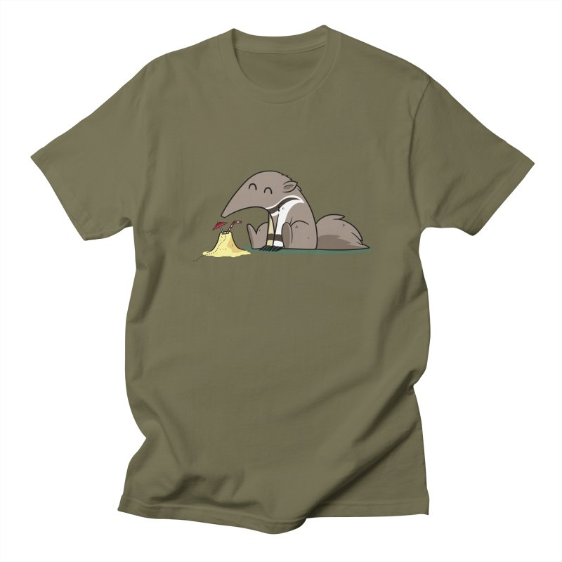 The Antdrinker Men's T-Shirt by Designs by Kurisquare