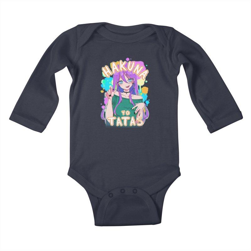 HYT (TYPE 3) Kids Baby Longsleeve Bodysuit by kurisustinah's Artist Shop