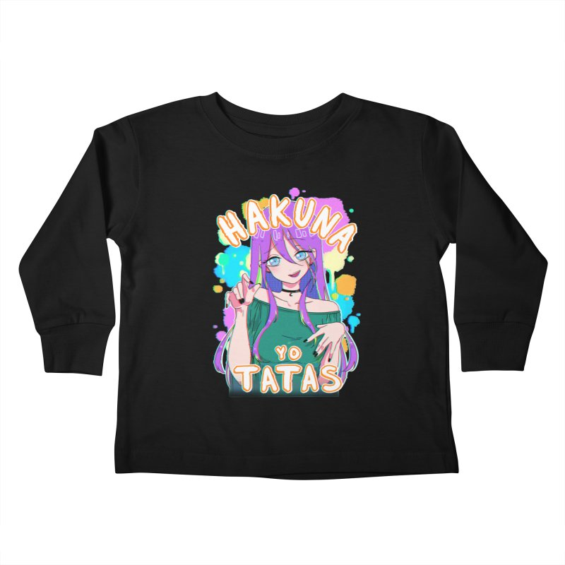 HYT (TYPE 3) Kids Toddler Longsleeve T-Shirt by kurisustinah's Artist Shop