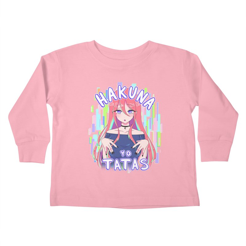 HYT (TYPE 4) Kids Toddler Longsleeve T-Shirt by kurisustinah's Artist Shop