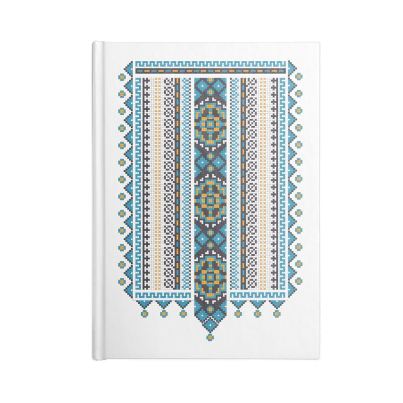 Ukrainian pattern Accessories Notebook by Kurochka