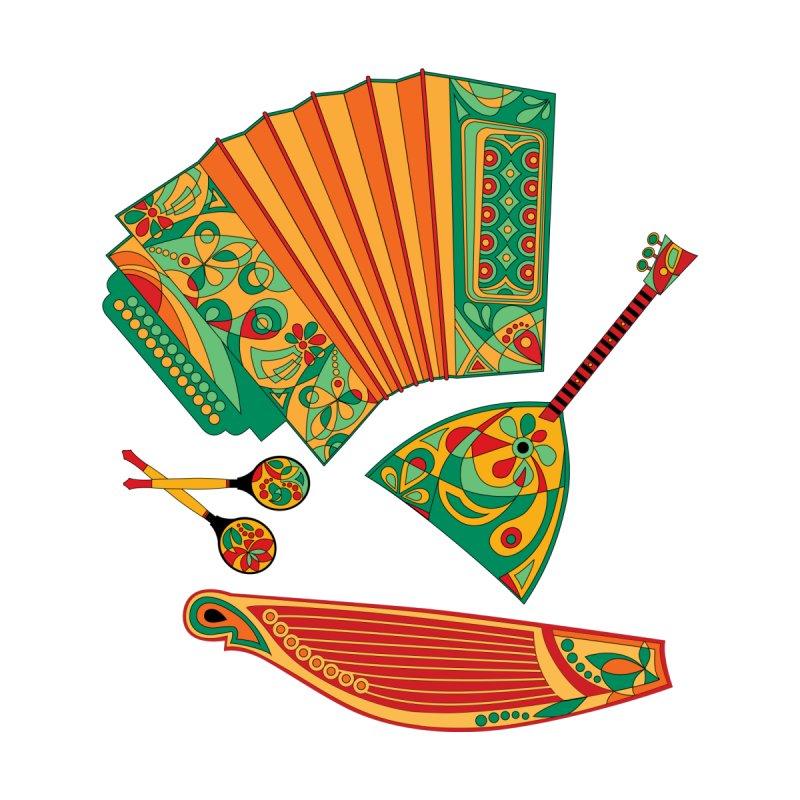 Russian Musical Instruments by Kurochka