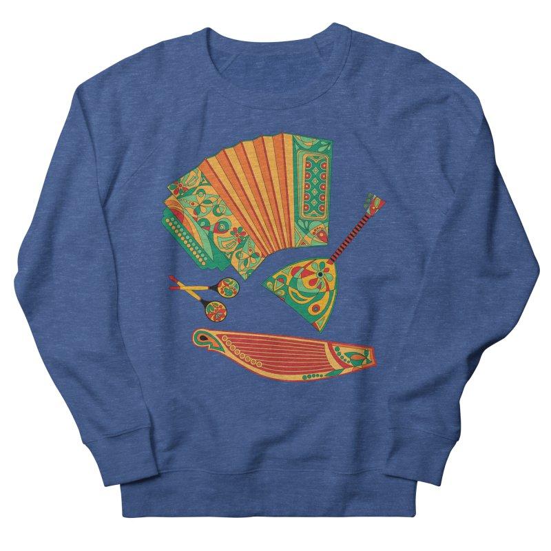 Russian Musical Instruments Men's Sweatshirt by Kurochka