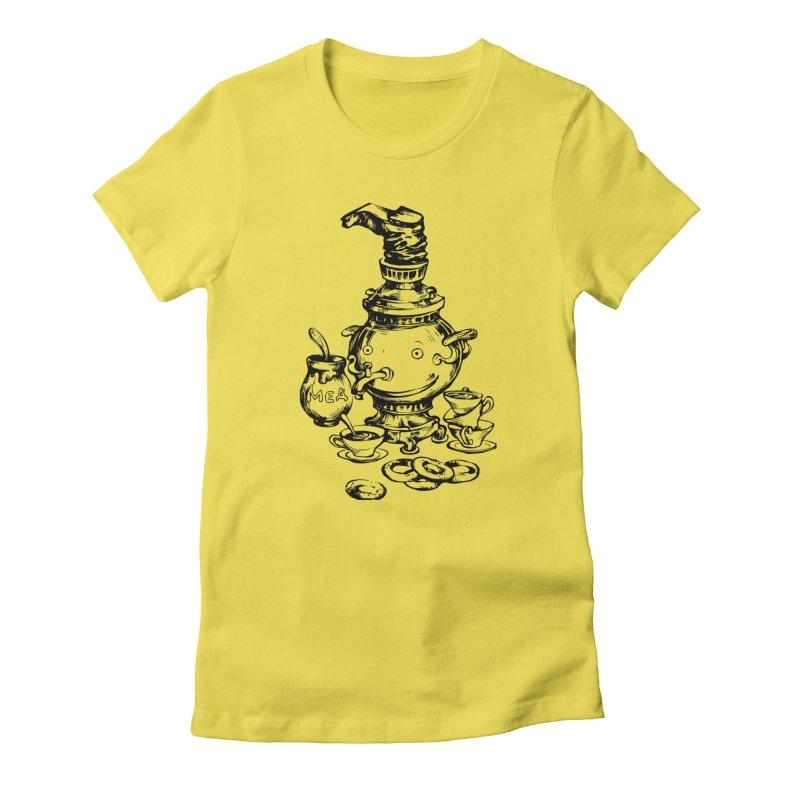 Russian Samovar Women's T-Shirt by Kurochka