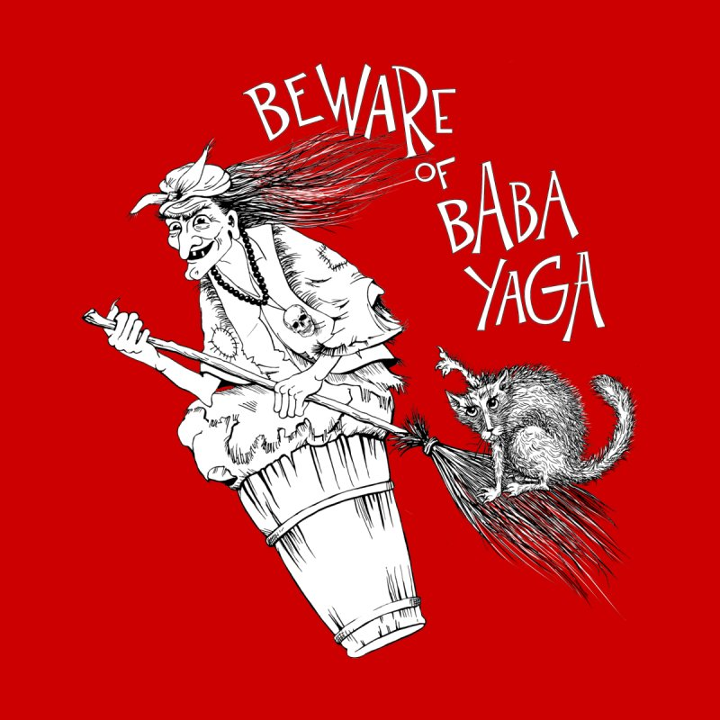 Baba Yaga Women's T-Shirt by Kurochka