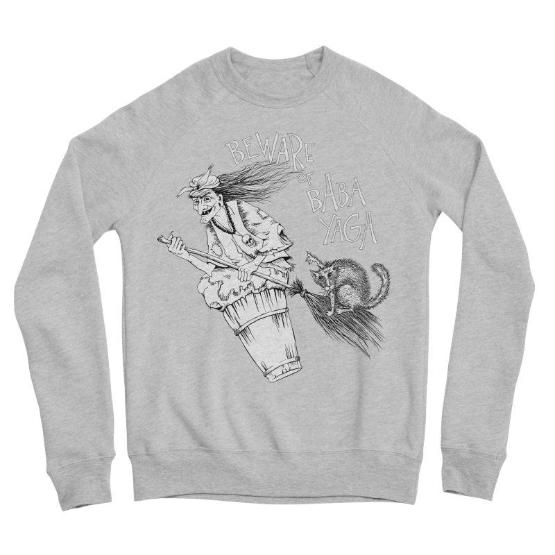 Baba Yaga Men's Sweatshirt by Kurochka