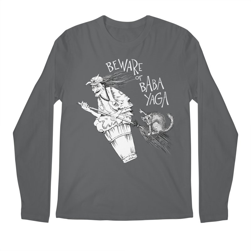 Baba Yaga Men's Longsleeve T-Shirt by Kurochka