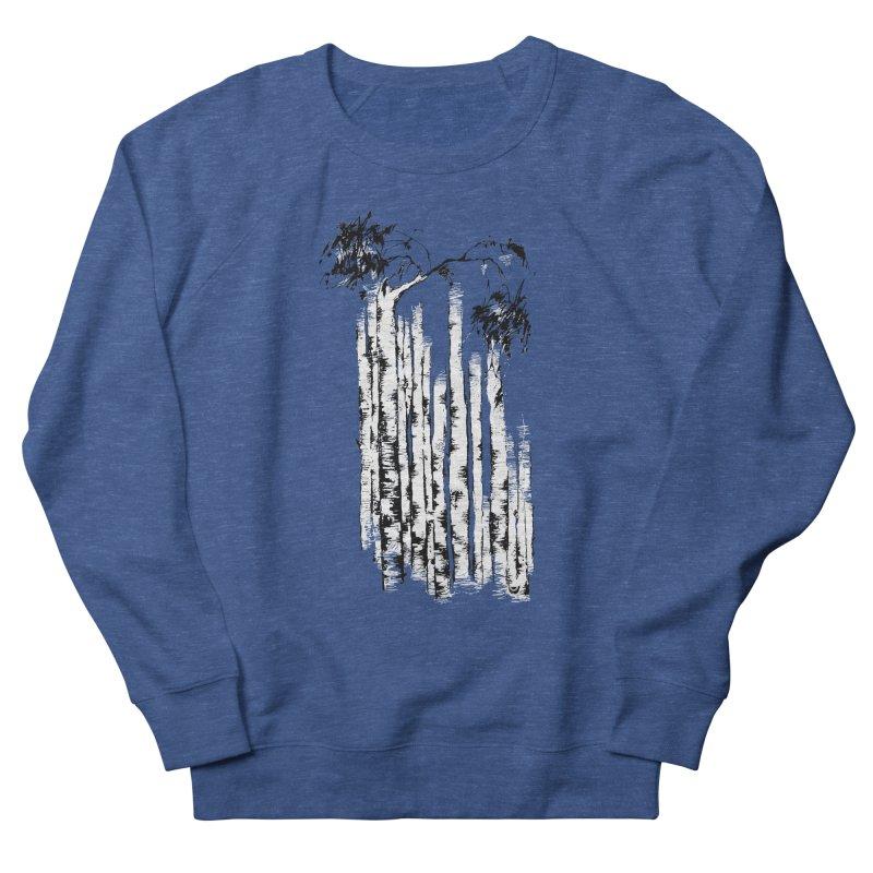Birch Trees Men's Sweatshirt by Kurochka