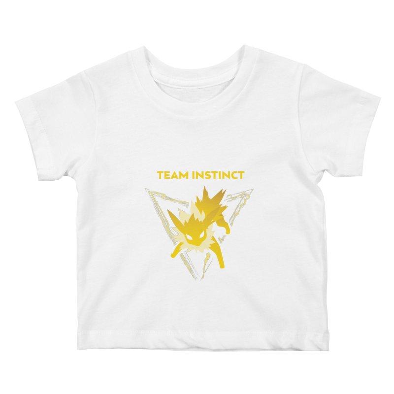 3d1292ac Jolteon Team Instinct. Flareon Team Valor Kids Baby T-Shirt by Kuromin's Artist  Shop