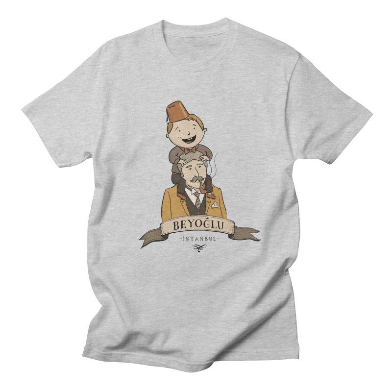 Beyoglu, Istanbul Men's T-shirt by Kürşat Ünsal's Artist Shop