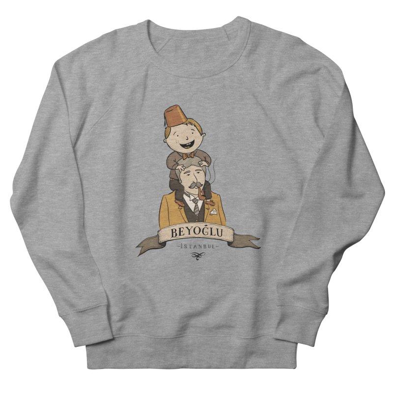 Beyoglu, Istanbul Men's Sweatshirt by Kürşat Ünsal's Artist Shop