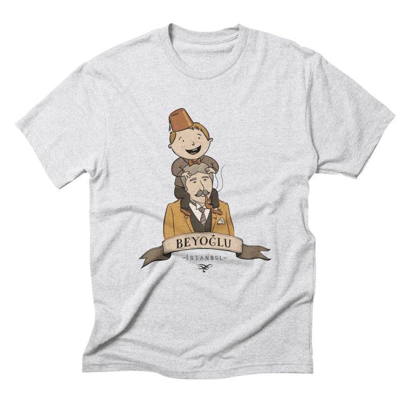 Beyoglu, Istanbul Men's Triblend T-Shirt by Kürşat Ünsal's Artist Shop