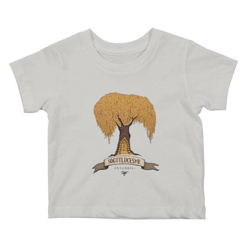 Sogutlucesme, Istanbul Kids Baby T-Shirt by Kürşat Ünsal's Artist Shop