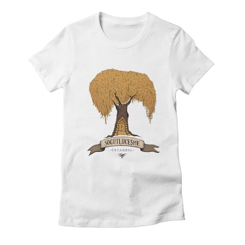 Sogutlucesme, Istanbul Women's Fitted T-Shirt by Kürşat Ünsal's Artist Shop