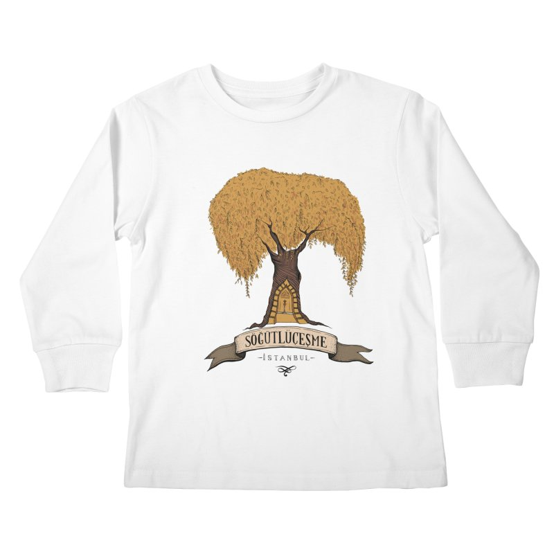 Sogutlucesme, Istanbul Kids Longsleeve T-Shirt by Kürşat Ünsal's Artist Shop