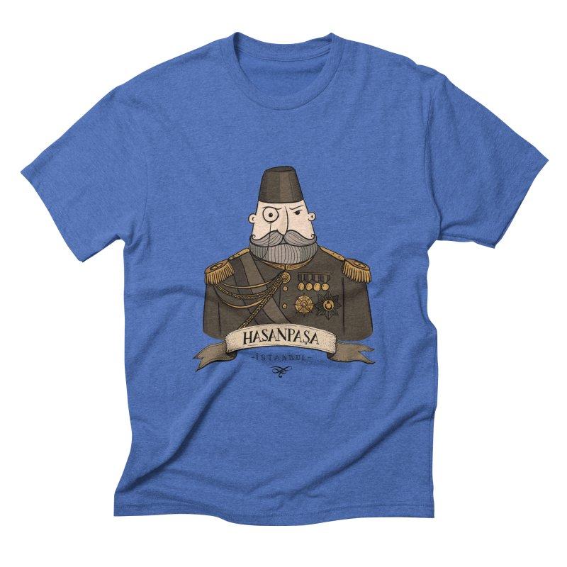 Hasanpasa, Istanbul Men's Triblend T-shirt by Kürşat Ünsal's Artist Shop