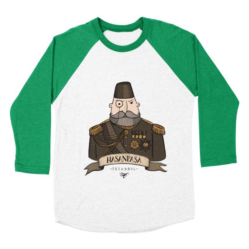 Hasanpasa, Istanbul Women's Baseball Triblend T-Shirt by Kürşat Ünsal's Artist Shop