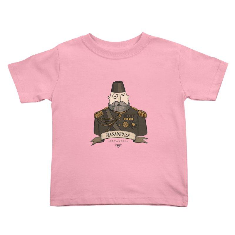 Hasanpasa, Istanbul Kids Toddler T-Shirt by Kürşat Ünsal's Artist Shop