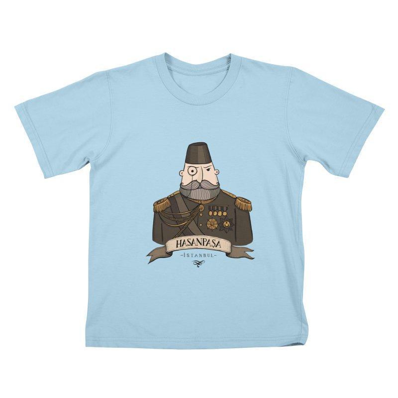 Hasanpasa, Istanbul Kids T-Shirt by Kürşat Ünsal's Artist Shop