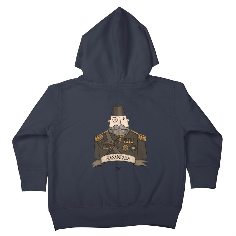 Hasanpasa, Istanbul Kids Toddler Zip-Up Hoody by Kürşat Ünsal's Artist Shop