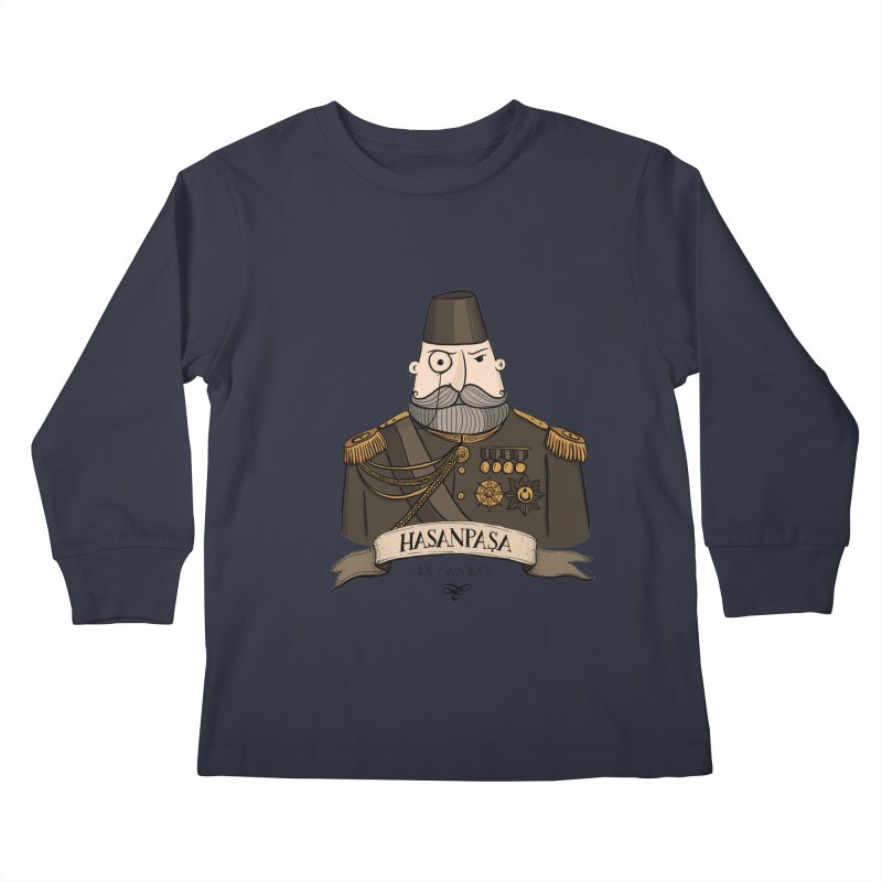 Hasanpasa, Istanbul Kids Longsleeve T-Shirt by Kürşat Ünsal's Artist Shop