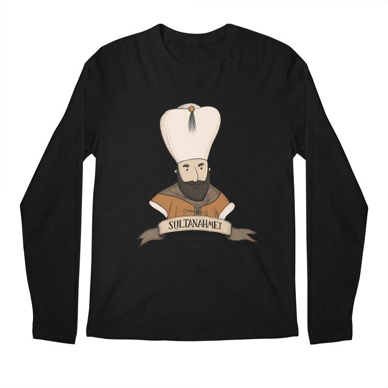 Sultanahmet, Istanbul Men's Longsleeve T-Shirt by Kürşat Ünsal's Artist Shop