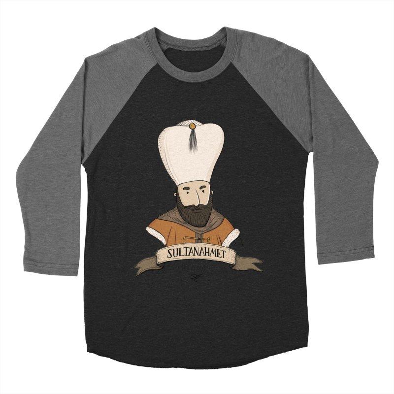 Sultanahmet, Istanbul Men's Baseball Triblend T-Shirt by Kürşat Ünsal's Artist Shop