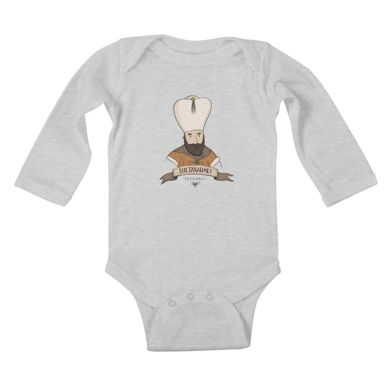Sultanahmet, Istanbul Kids Baby Longsleeve Bodysuit by Kürşat Ünsal's Artist Shop
