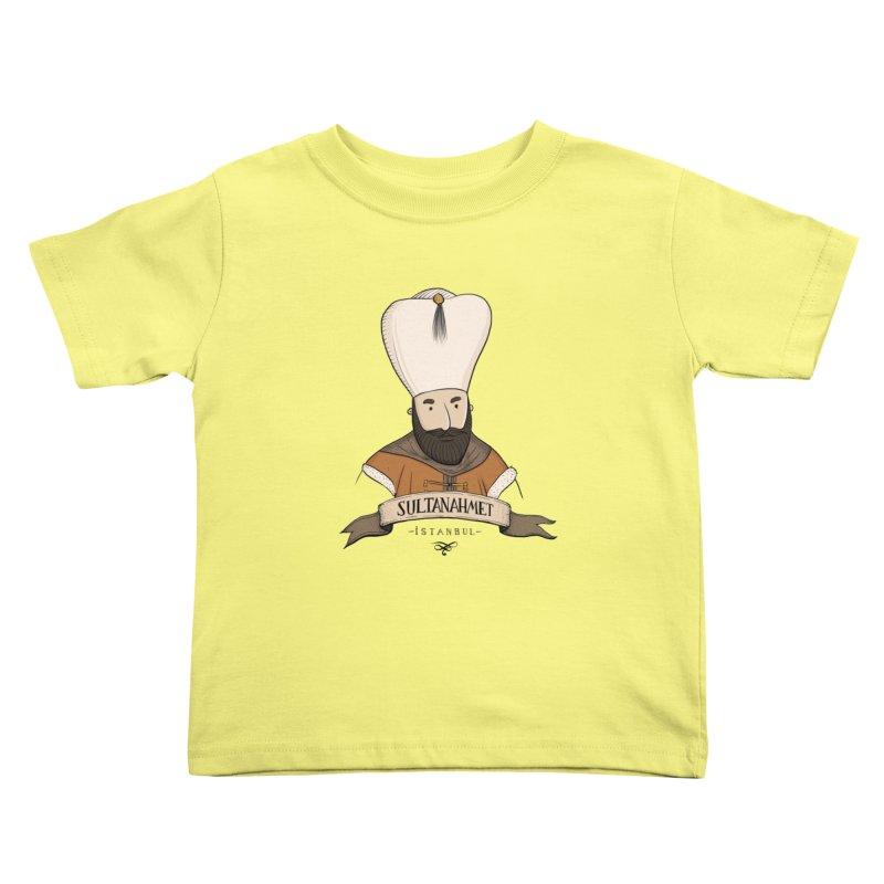 Sultanahmet, Istanbul Kids Toddler T-Shirt by Kürşat Ünsal's Artist Shop