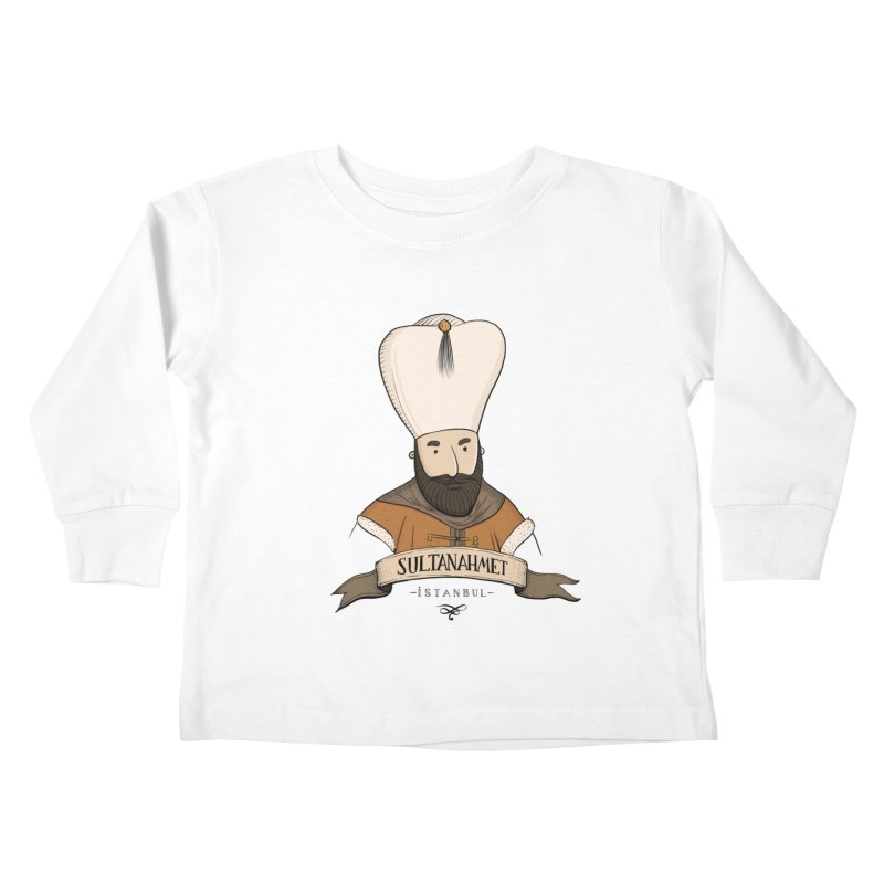 Sultanahmet, Istanbul Kids Toddler Longsleeve T-Shirt by Kürşat Ünsal's Artist Shop