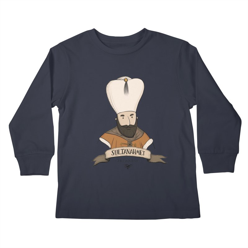 Sultanahmet, Istanbul Kids Longsleeve T-Shirt by Kürşat Ünsal's Artist Shop