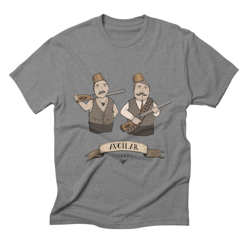 Avcilar, Istanbul Men's Triblend T-Shirt by Kürşat Ünsal's Artist Shop