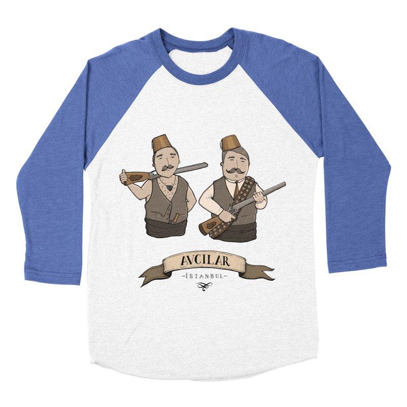 Avcilar, Istanbul Men's Baseball Triblend T-Shirt by Kürşat Ünsal's Artist Shop